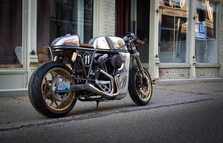 Grand Prix, the Cafe Racer Sportster