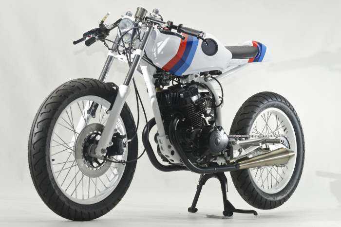 Brat Style Done Right Honda CB125 Cafe Racer