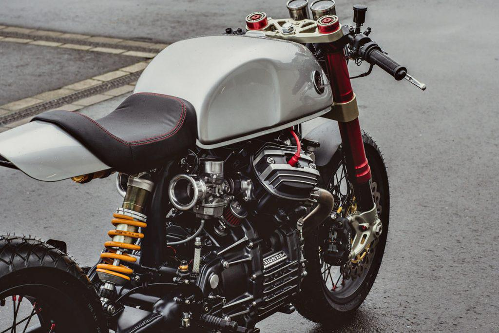 Honda CX500 cafe racer project – by Lakic