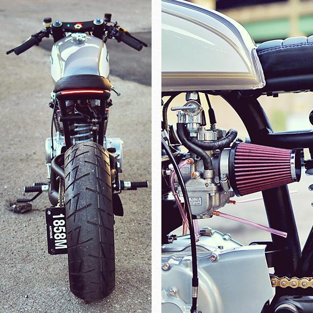 Honda CB350 cafe racer project – Cognito Moto