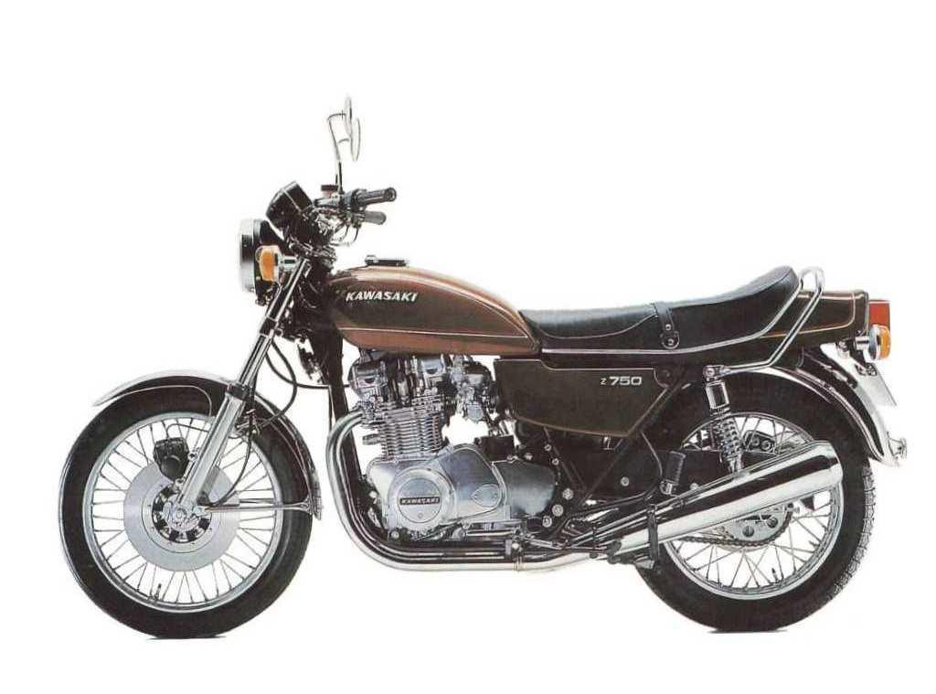 Holger's Kawasaki z750 cafe racer: Blending the old with the new!