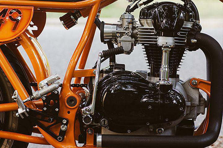 Kawasaki W650 Cafe Racer High Noon – Speedwerks