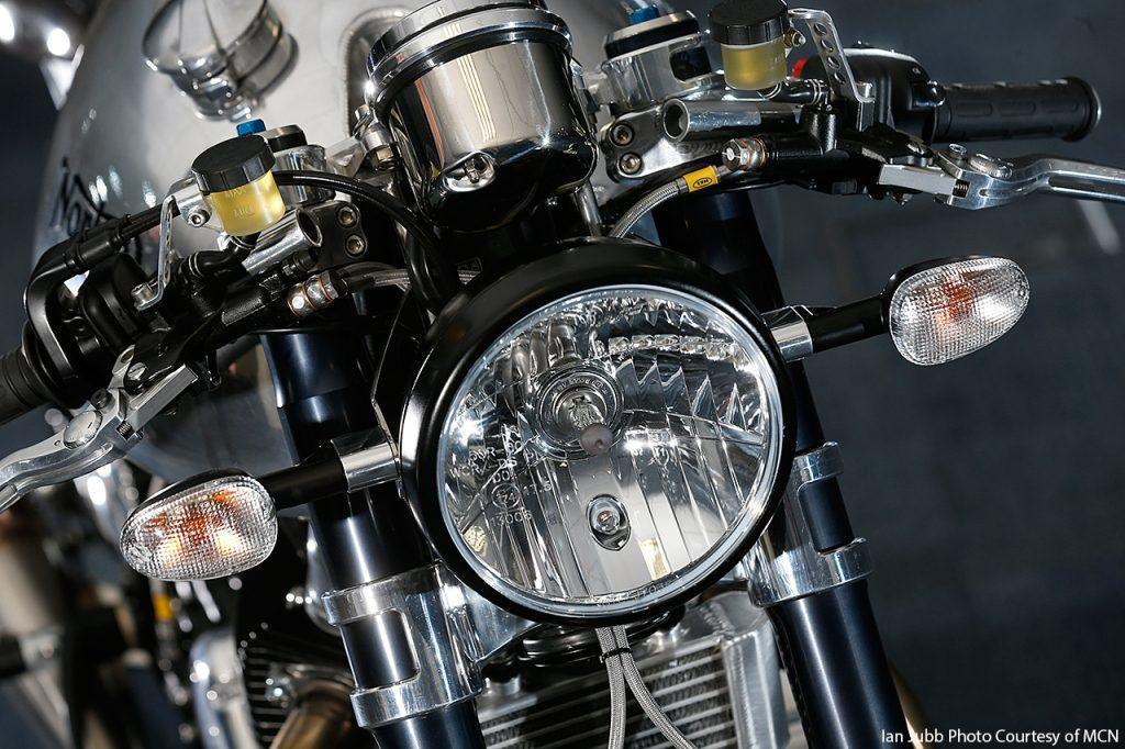 Domiracer – Norton 961 cafe racer project – by Norton