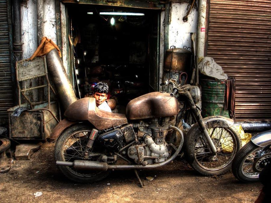 Royal Enfield Bullet Cafe Racer Project