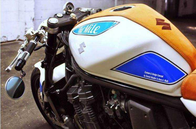Fatmile, the Suzuki Bandit Cafe Racer that will steal your heart!