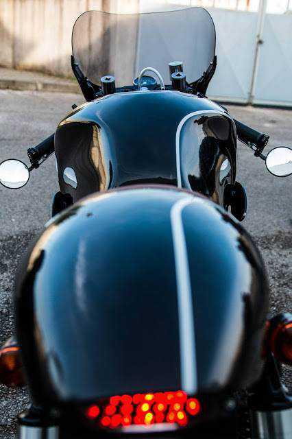 The perfect Suzuki GS500 Cafe Racer