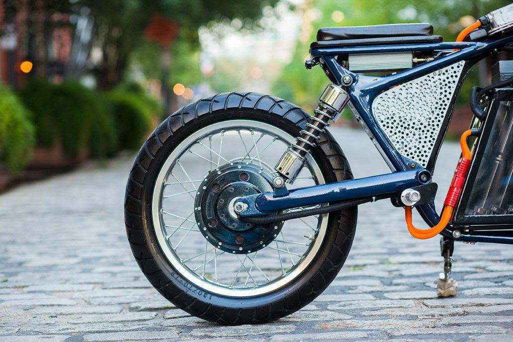 Savage from Night Shift Bikes – electric cafe racer