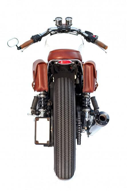 Triumph Bonneville Cafe Racer Project – Deus EX
