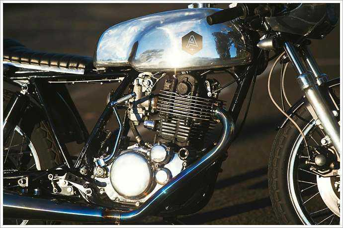 Yamaha sr500 Cafe Racer: A Tribute to the Classic Manx Norton