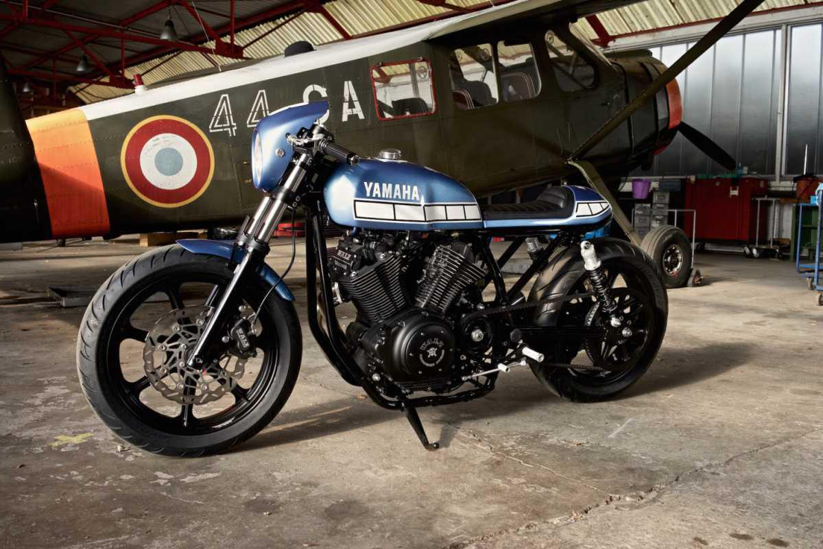 Yamaha XV950 cafe racer by Marcus Walz