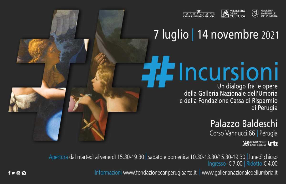 #incursioni d'arte a Palazzo Baldeschi di Perugia