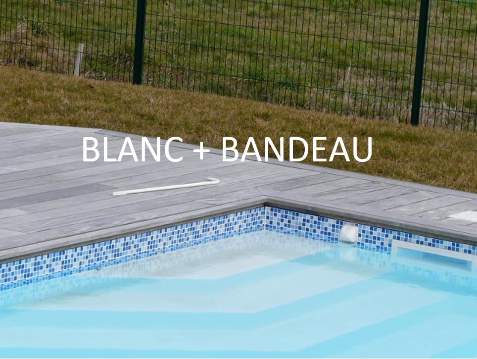 BLANC + BANDEAU