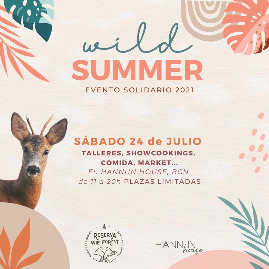 Evento benéfico WILD SUMMER 2021