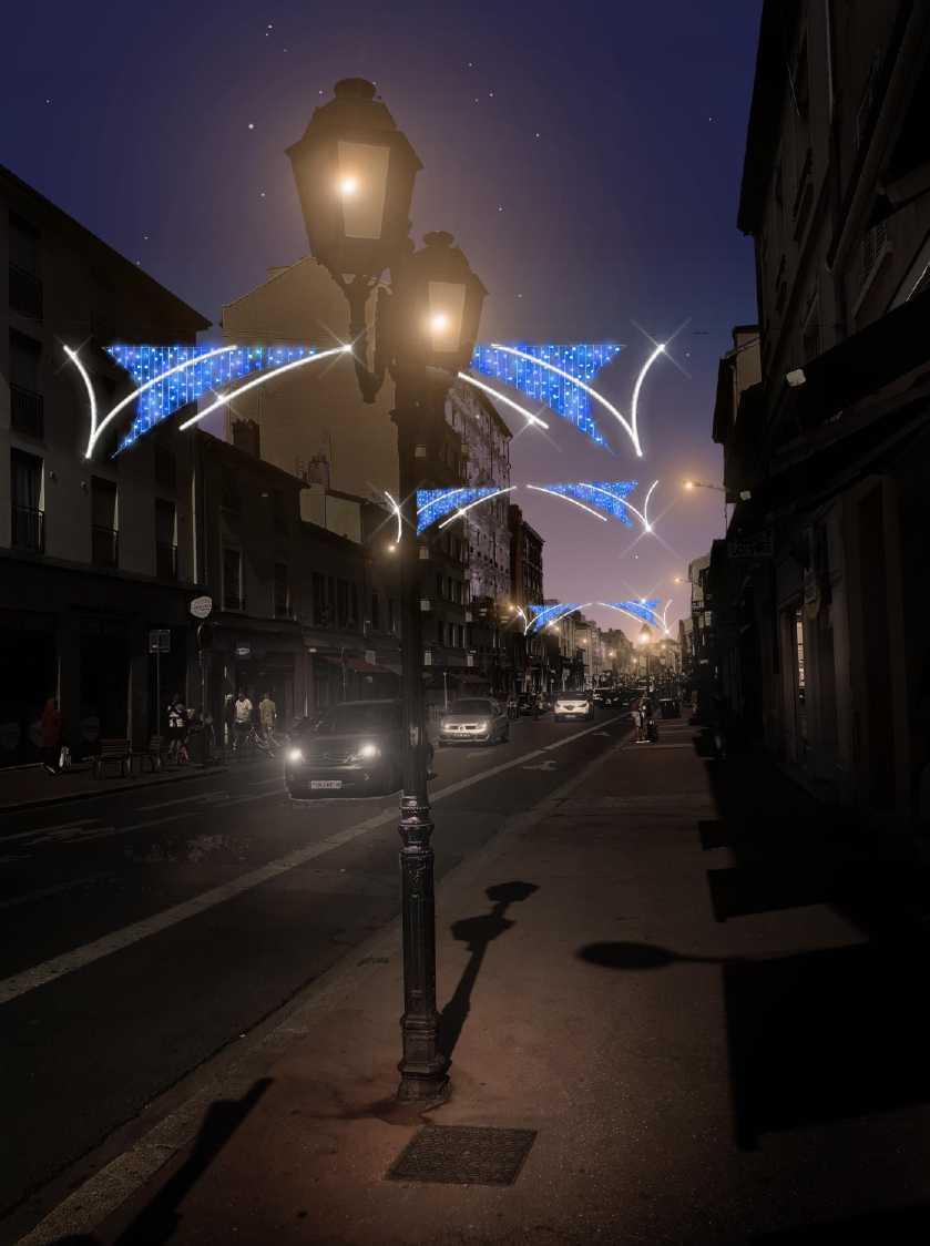 Les illuminations : les fêtes de fin d'année promettent d'être féeriques à Monplaisir !
