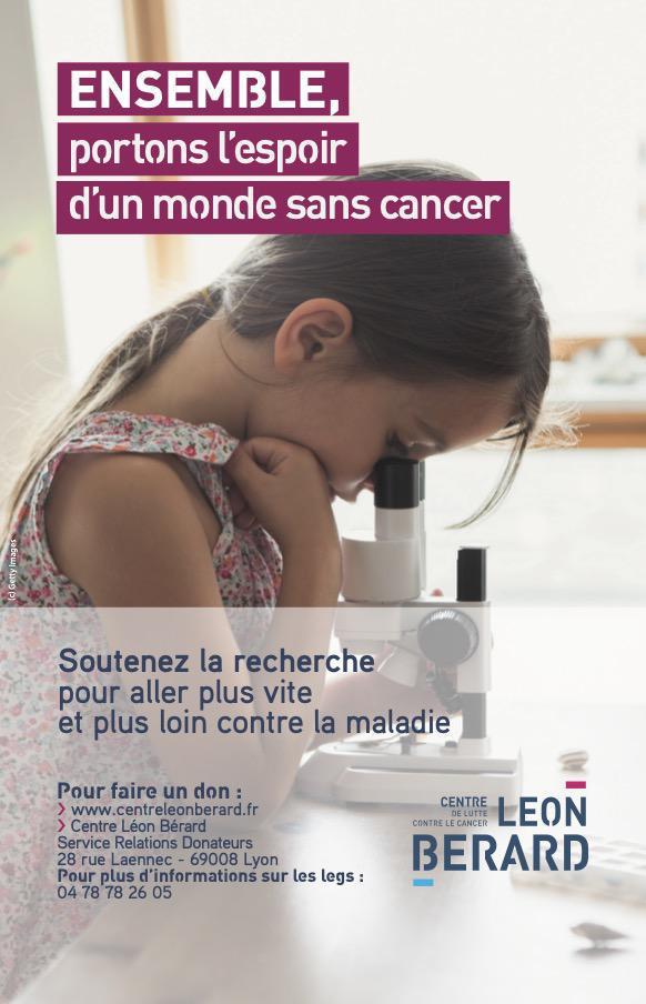 Ensemble portons l'espoir d'un monde sans cancer !