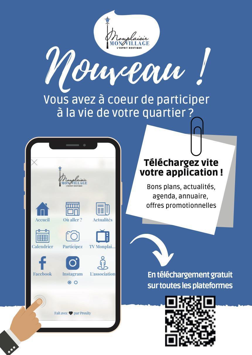 """""""Monplaisir Mon Village"""", une innovation imaginée par Proxity pour favoriser la vie locale"""