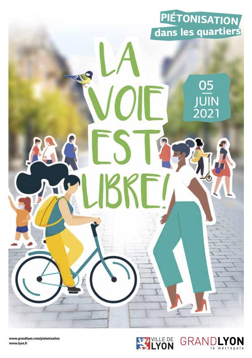 """05/06 - Opération """"La voie est libre"""" : piétonnisation dans votre quartier !"""