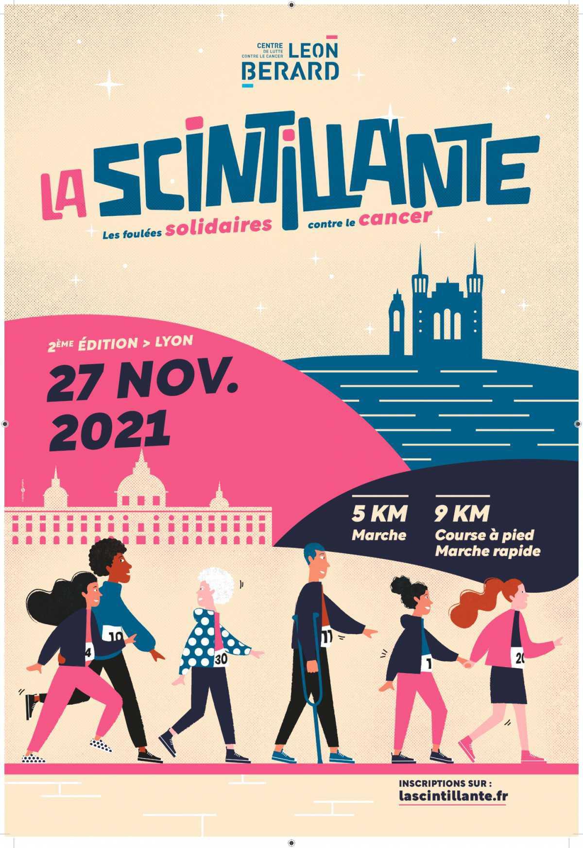 Le 27/11, mobilisez-vous contre le cancer avec La Scintillante !