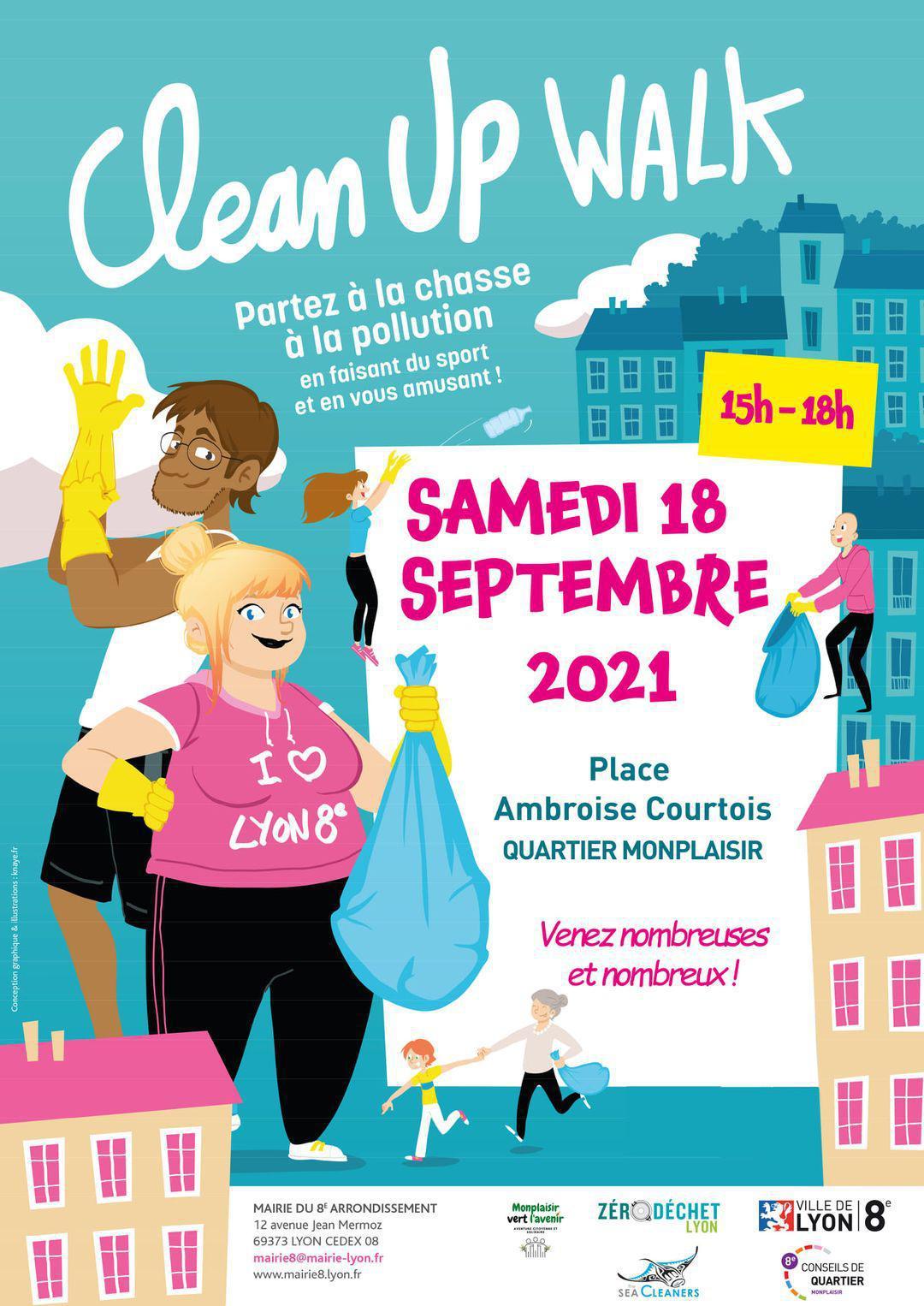 18/09 - CleanUp Walk à Monplaisir !