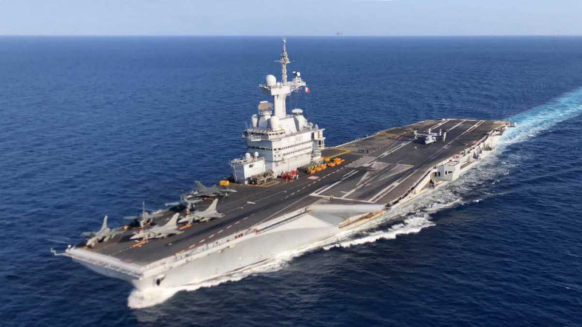 Futur porte-avions : le premier contrat d'études notifié