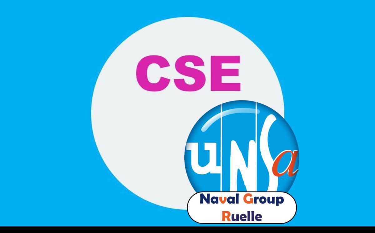 CSE de Ruelle - Réunion du 9 mars 2021 - Compte rendu