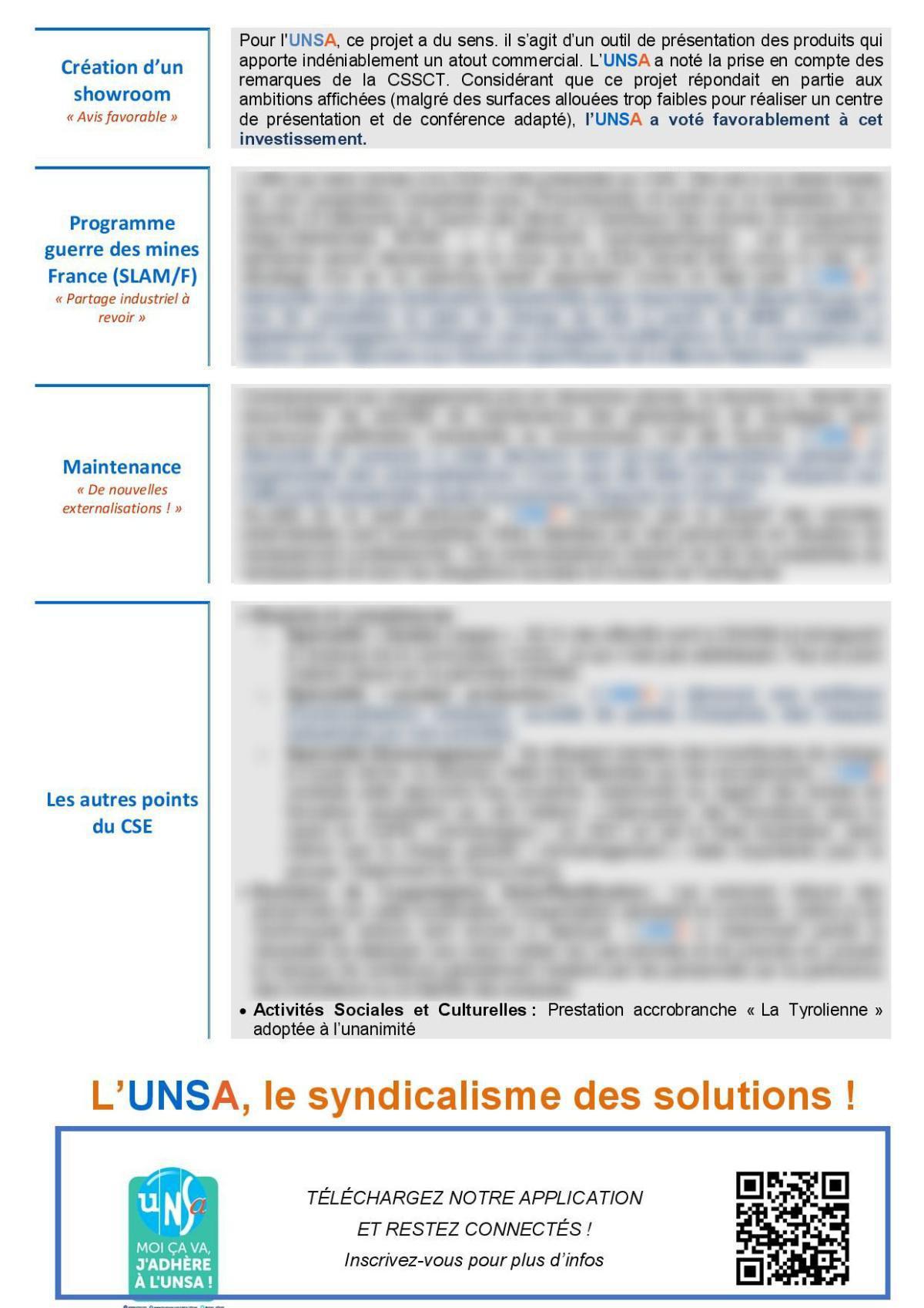 CSE de Lorient - réunion du 13 avril 2021 - Compte rendu