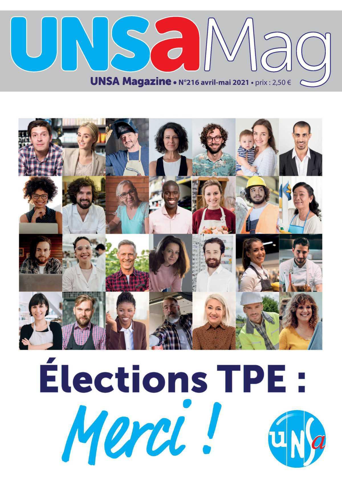 N°216 - Elections TPE : MERCI !