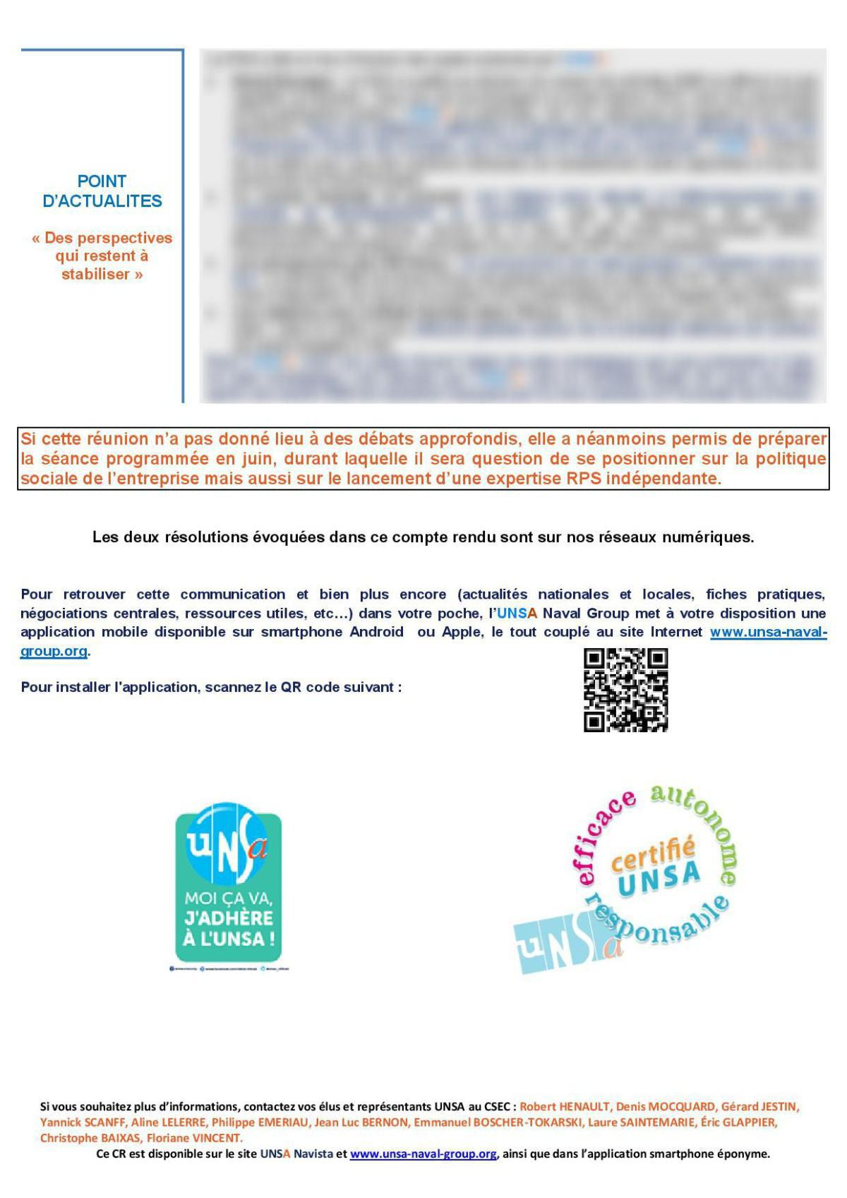 Réunion du 19 mai 2021 - Compte Rendu