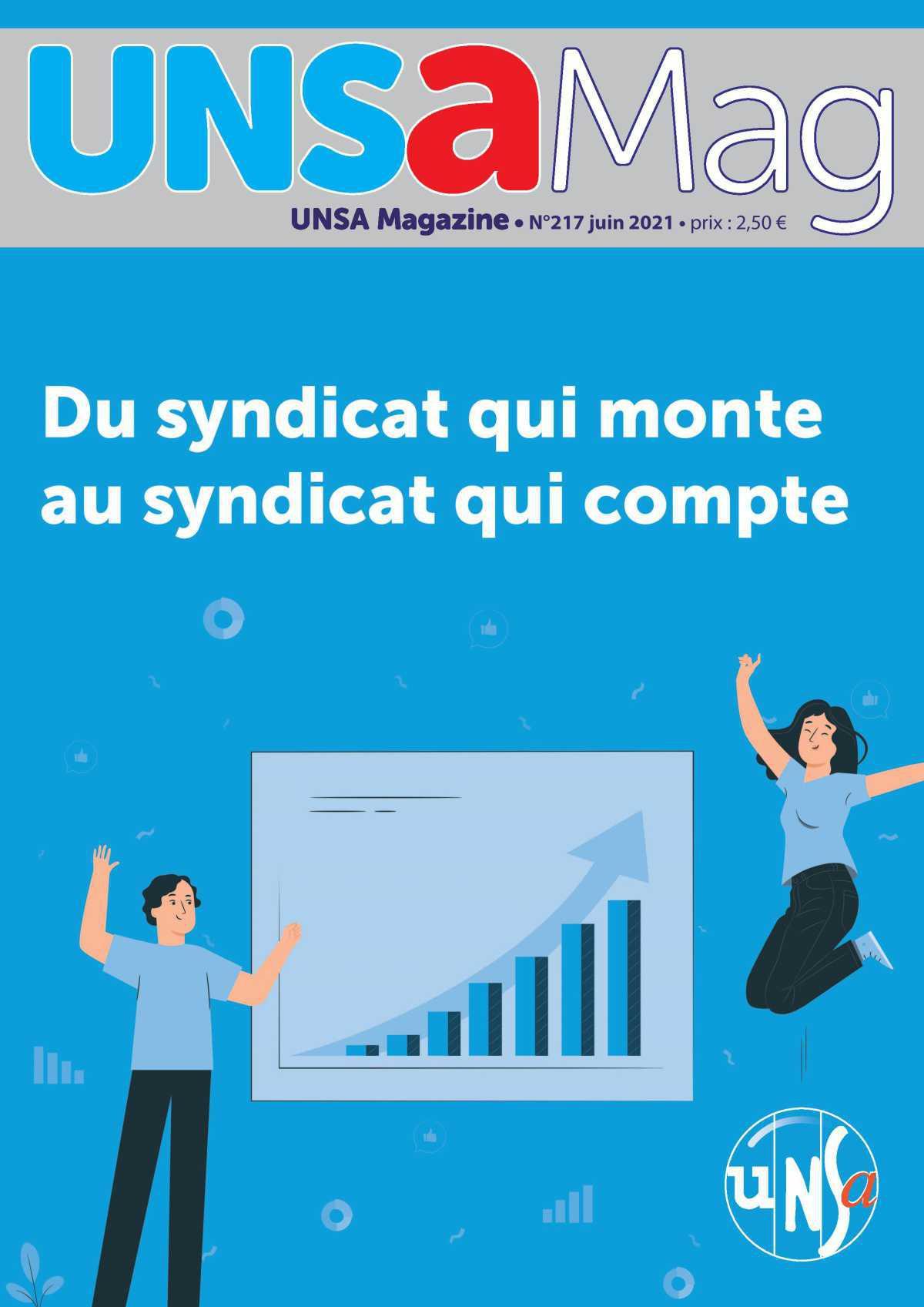 N°217 - du syndicat qui monte au syndicat qui compte !