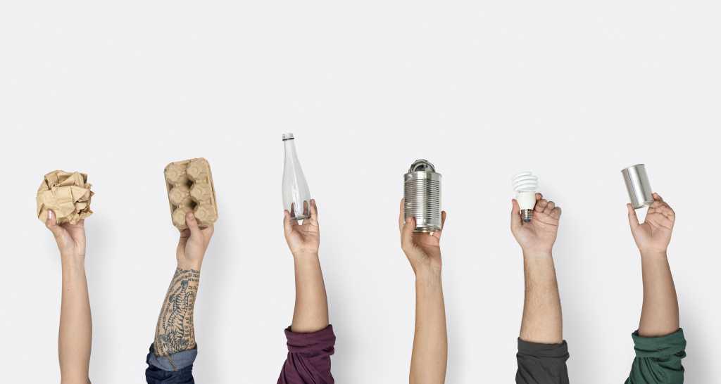 Entenda a diferença entre reciclável e reciclado