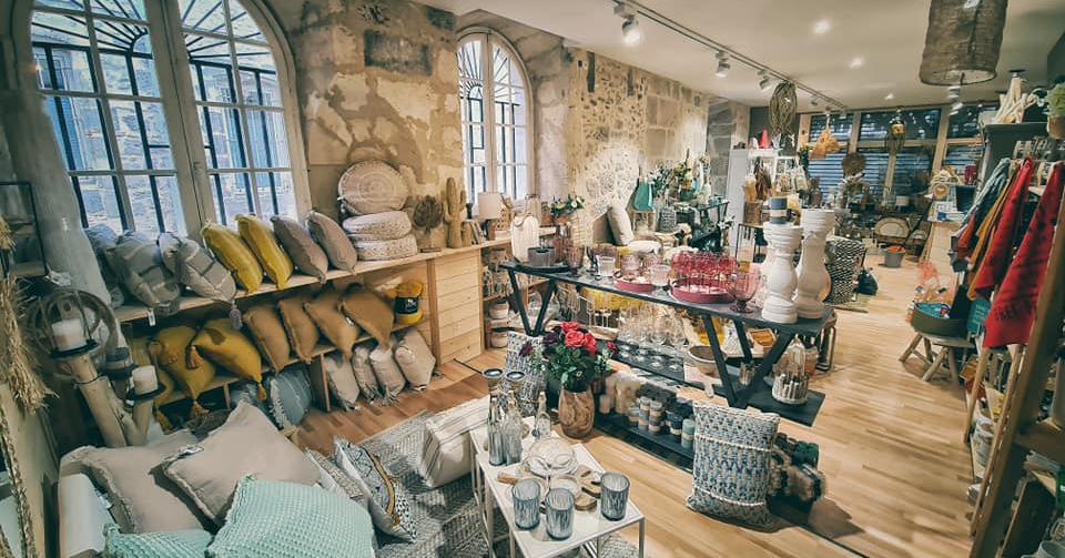 Magasin de décoration et magasin de cadeaux à Nérac