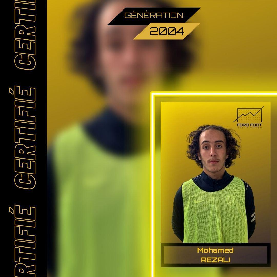 REZALI Mohamed - 2004