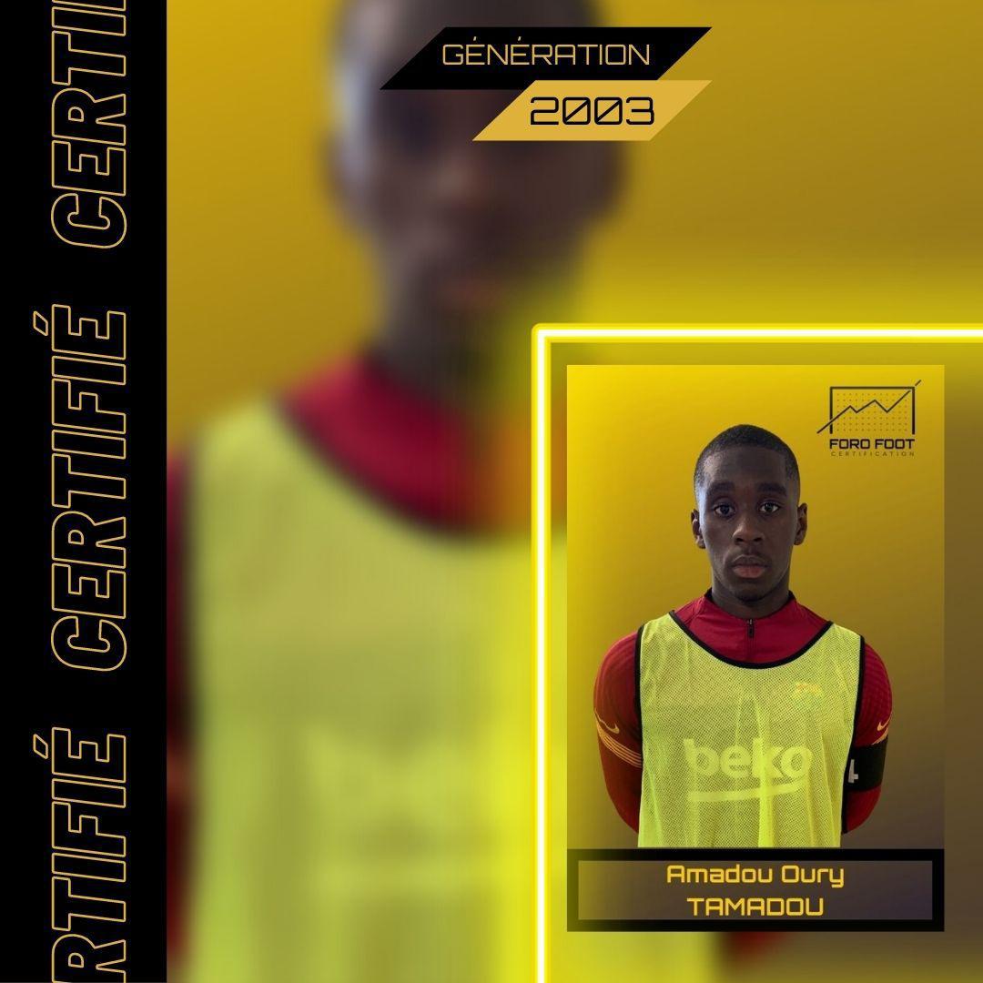 TAMADOU Amadou Oury - 2003
