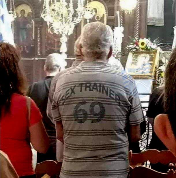 Proper Greek church attire