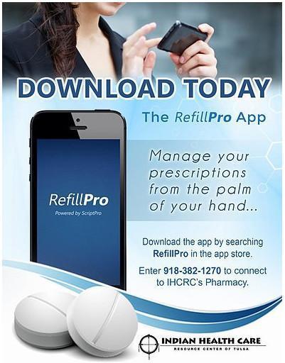 RefillPro Pharmacy App