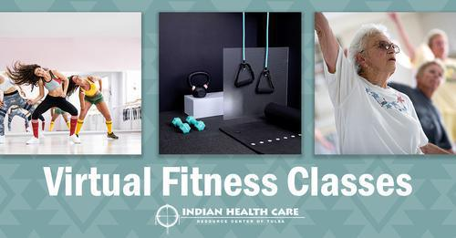 3 Virtual Fitness Classes with IHCRC