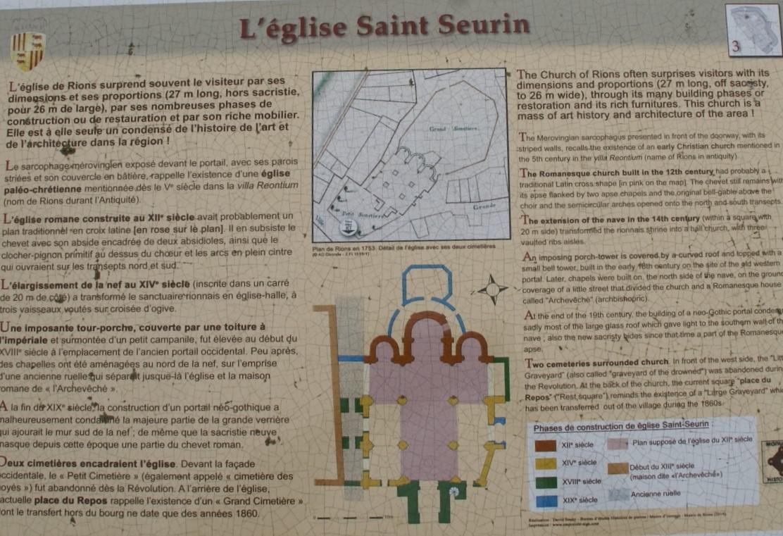 L'église St Seurin