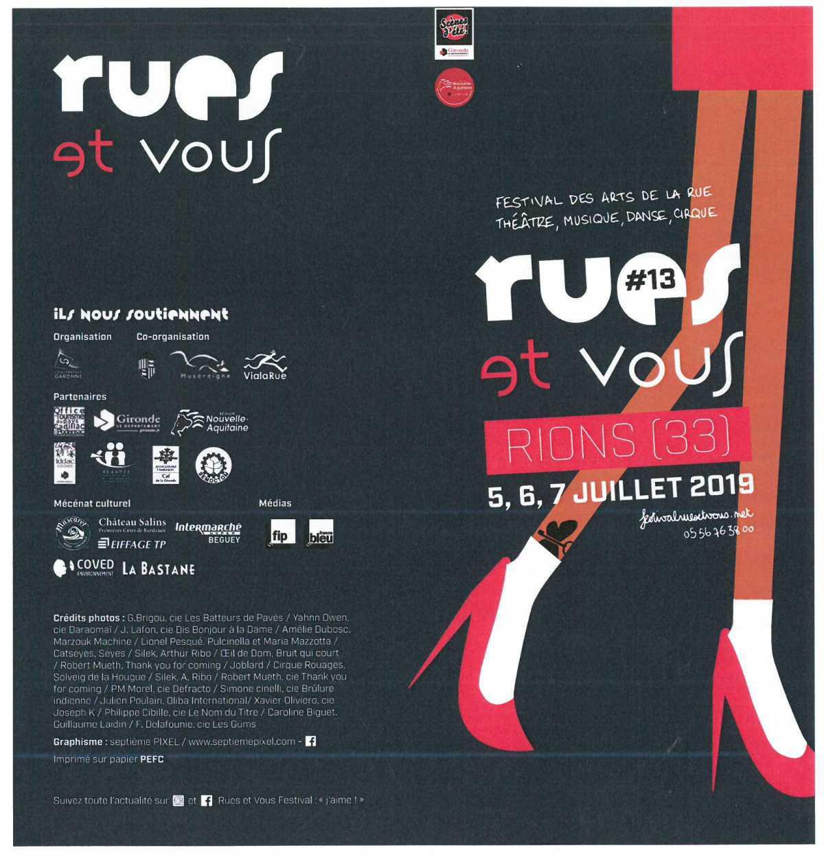 """Le Festival """"Rues et vous"""""""
