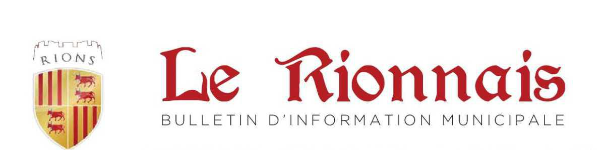 """Magazine municipal """"Le Rionnais"""""""