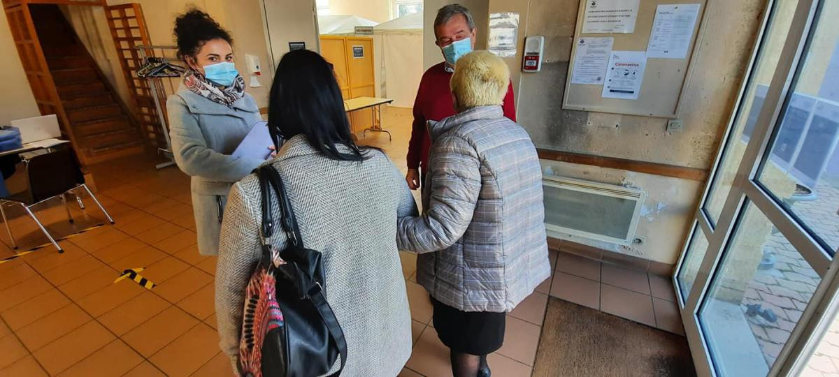 Vaccinodrôme Rions : jour 1 !