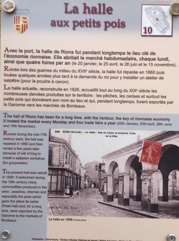 """Dans la rue Lavidon : les """"façades disparues"""" et la """"halle aux petits pois"""""""