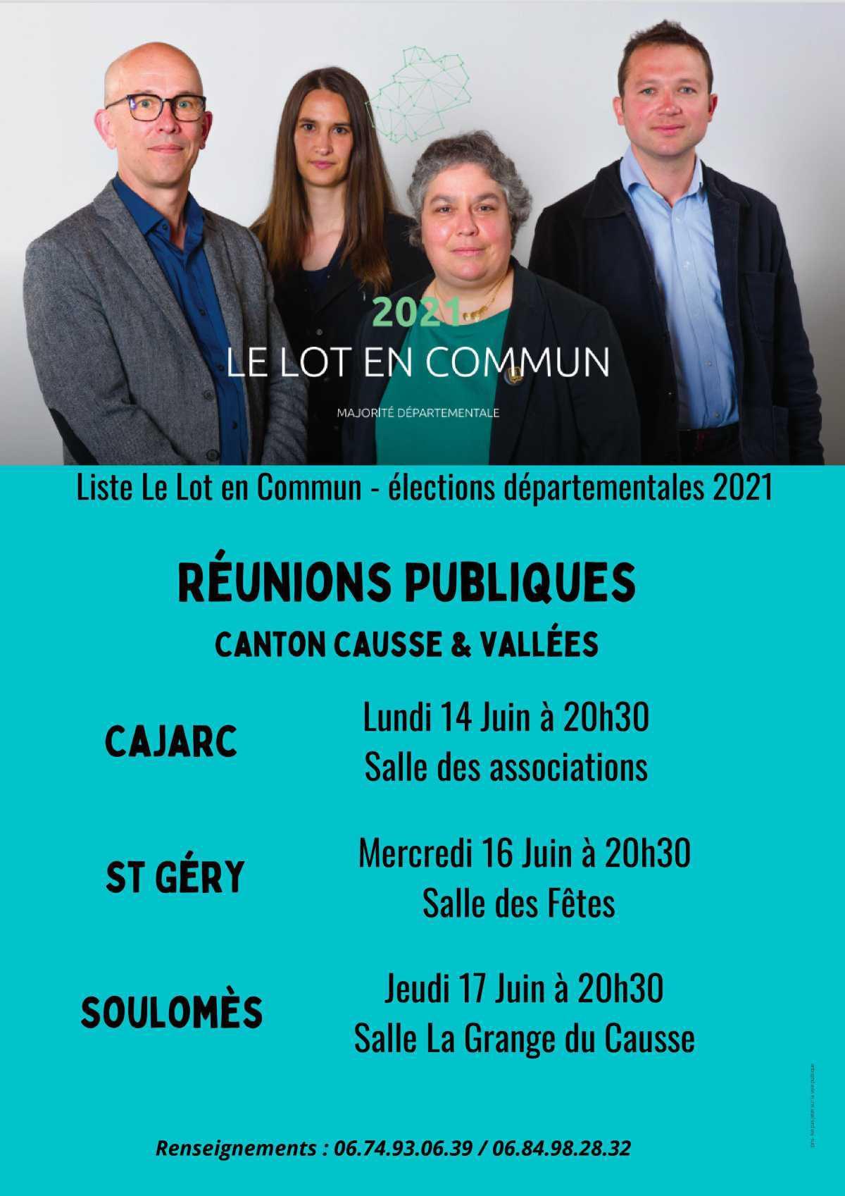 Élections départementales 2021 - programmes politique