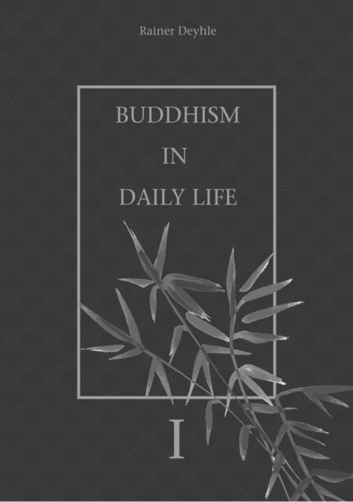 My book: Buddhism in daily life