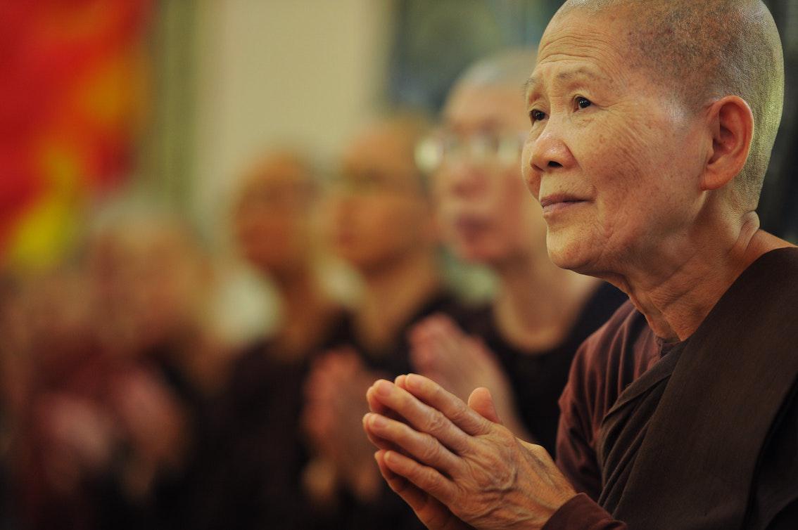 Beten im Buddhismus