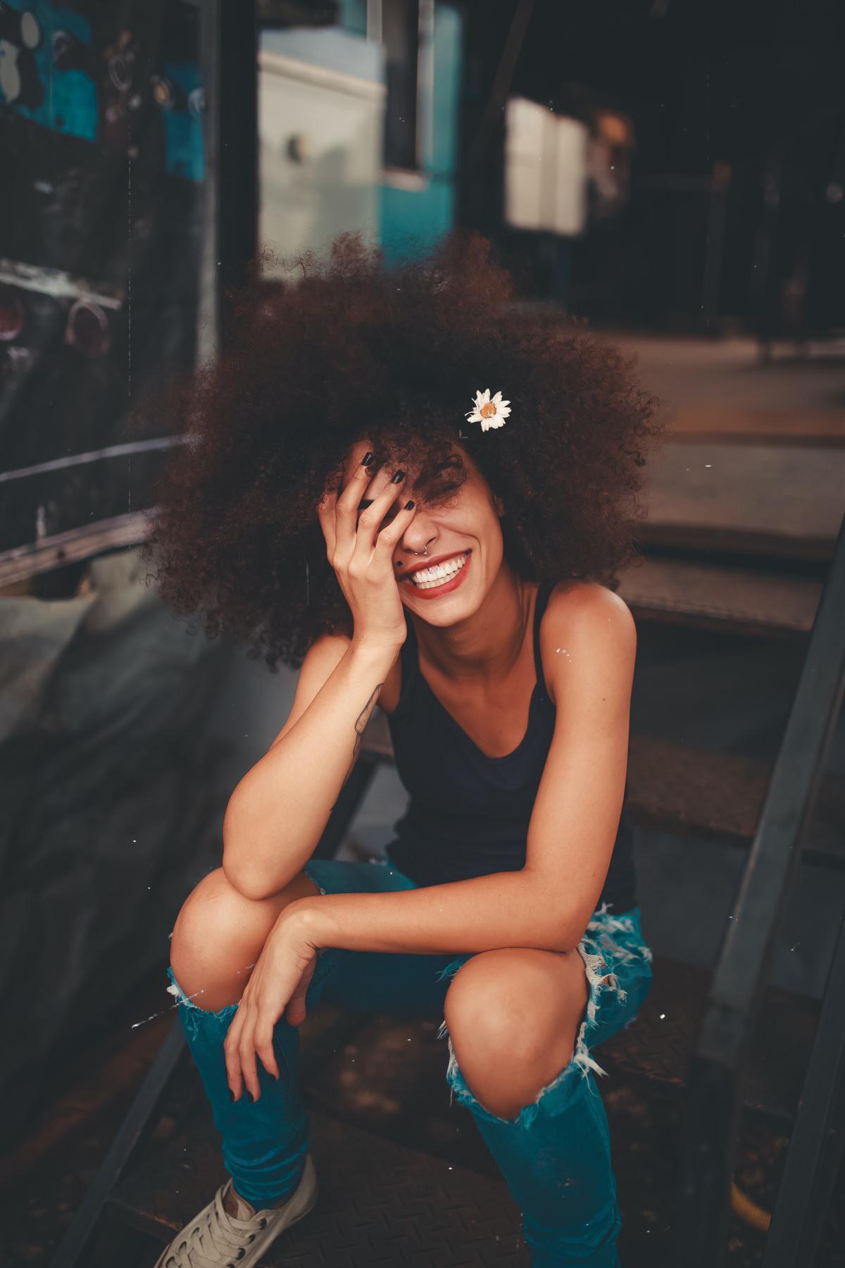 Lächelnd der Angst begegnen
