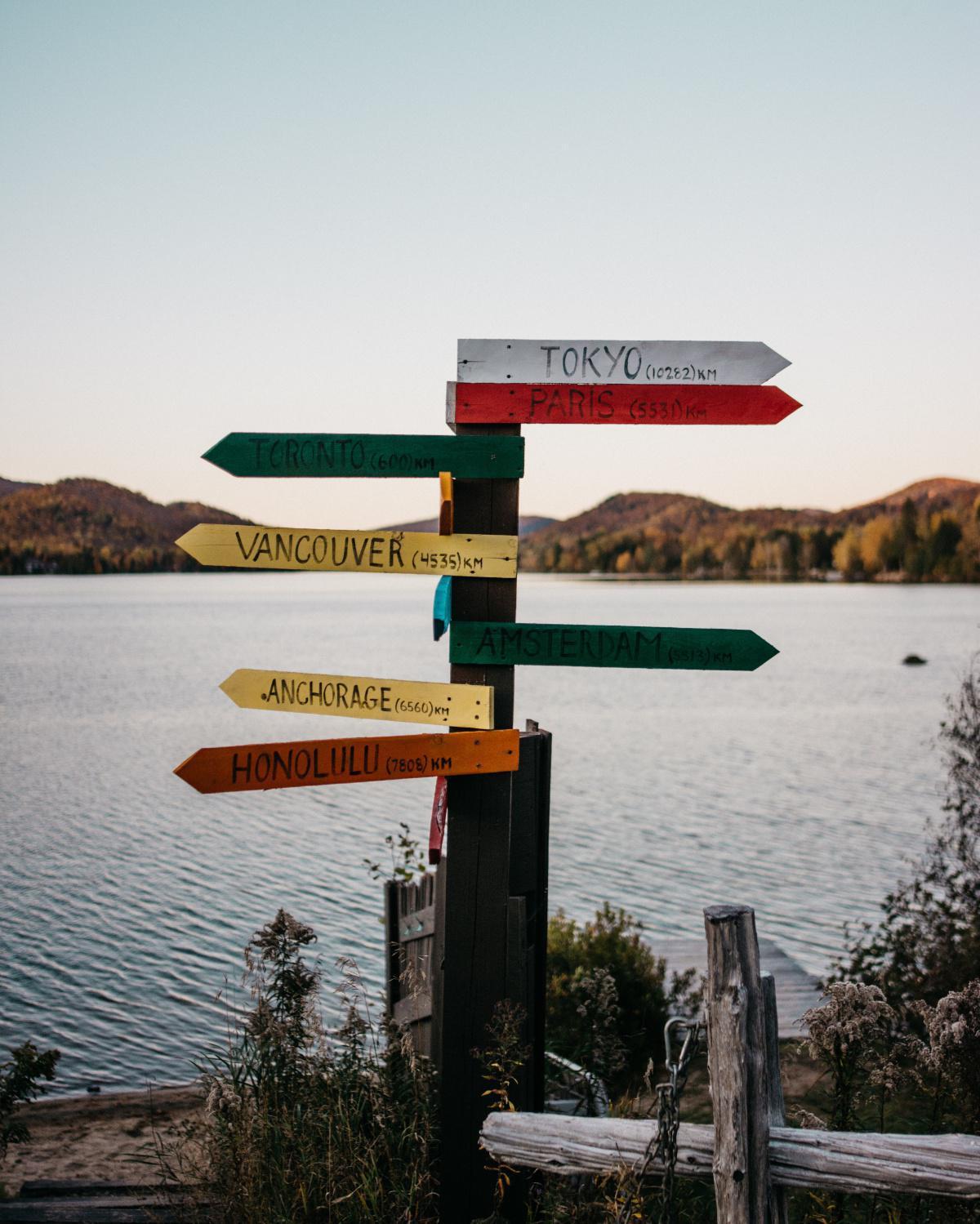 Wo will ich hin?