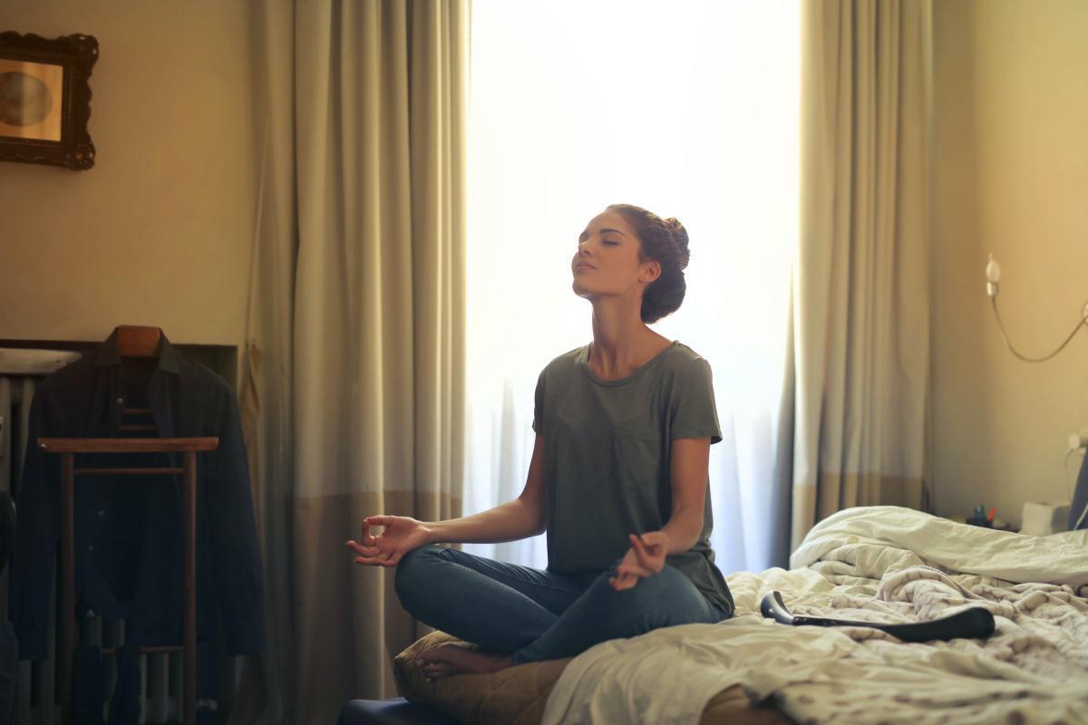 Gesund und zufrieden mit Meditation