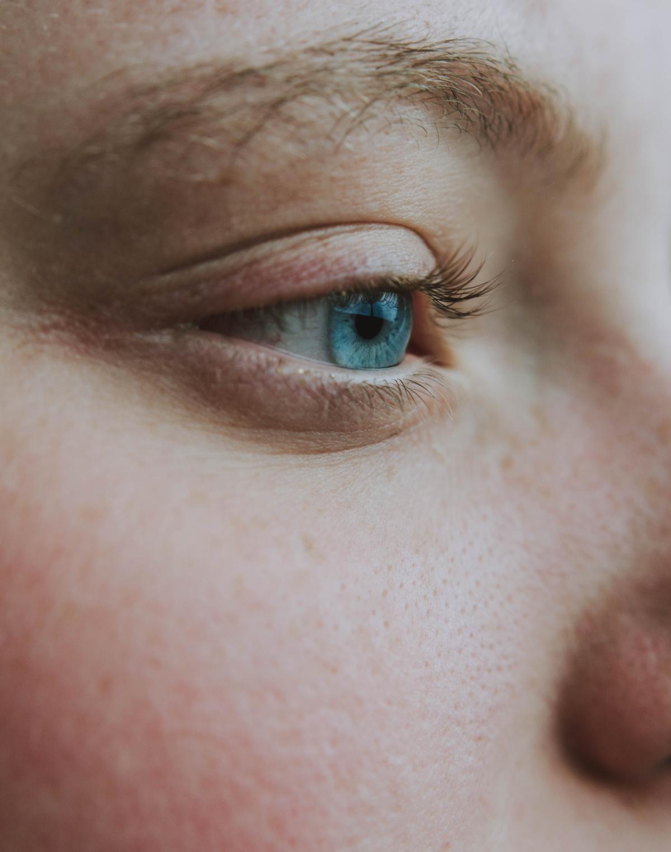 Geschlossene Augen