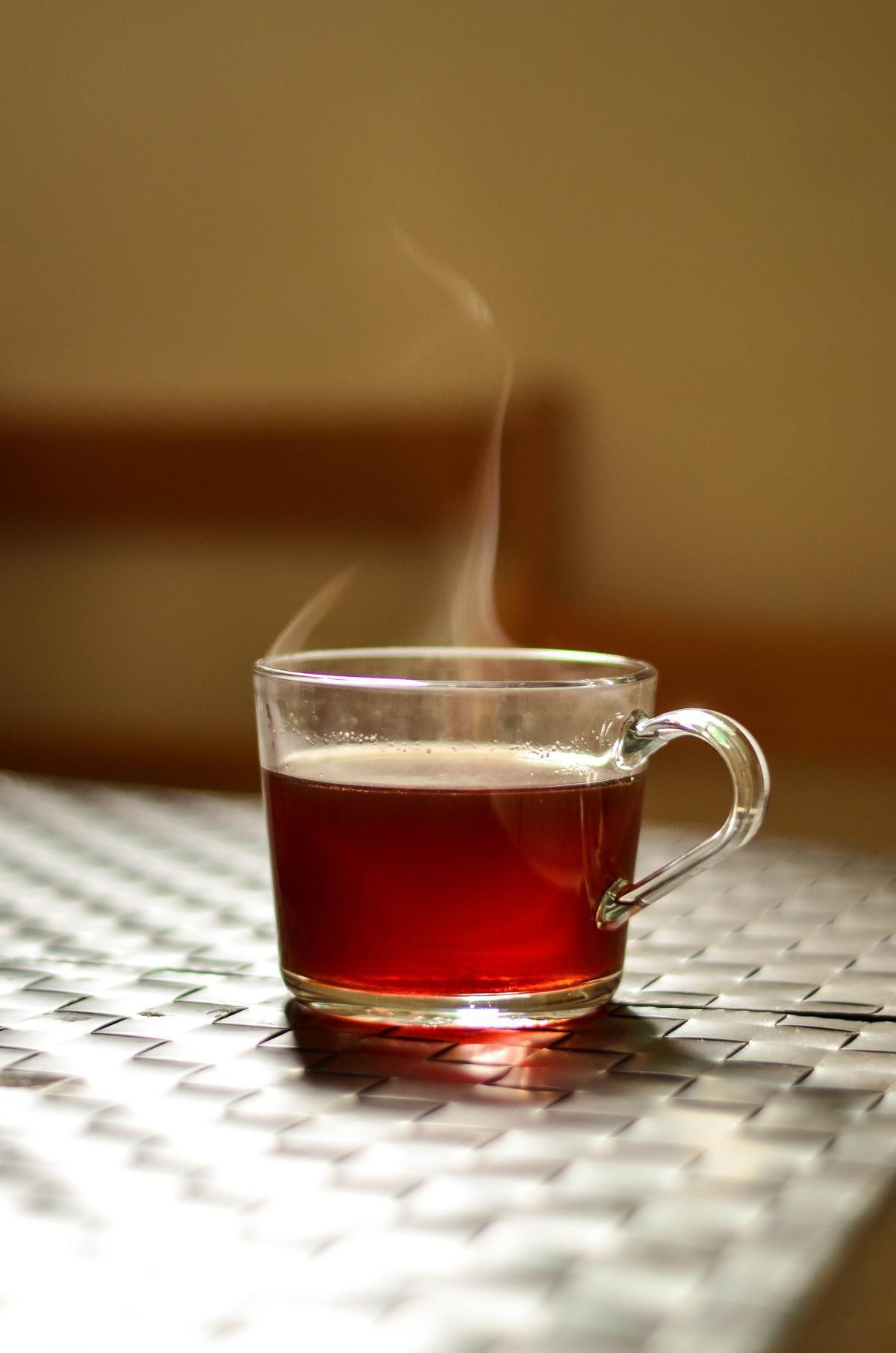 Übrig bleibt nur der Tee