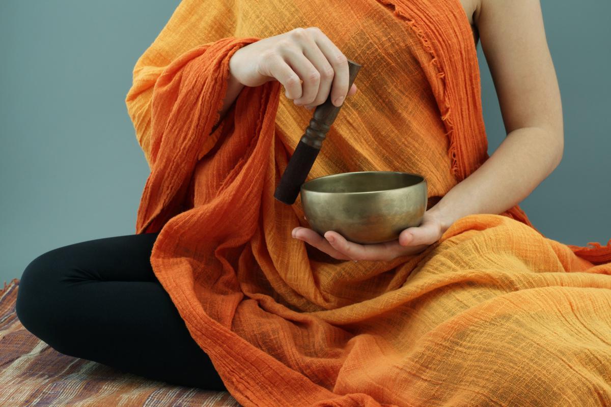Buddhas Klangschale